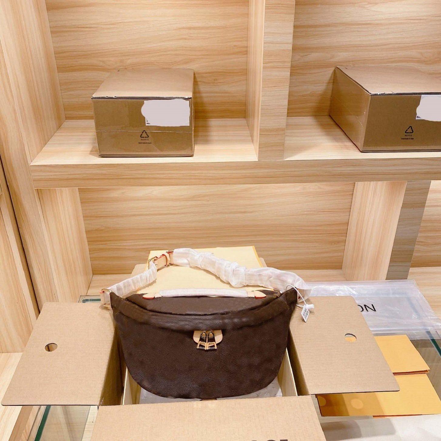 Design Waistbags Das Mulheres Peito Crossbody Bag Moda carta de Moda Luxo Viagem Estilo Vintage Top Quality Senhoras Sacos