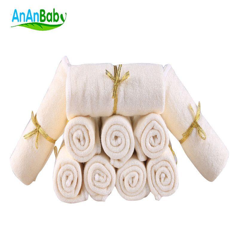 Anaaby Face Bamboo Fibra Toalha Algodão Baby Wipe