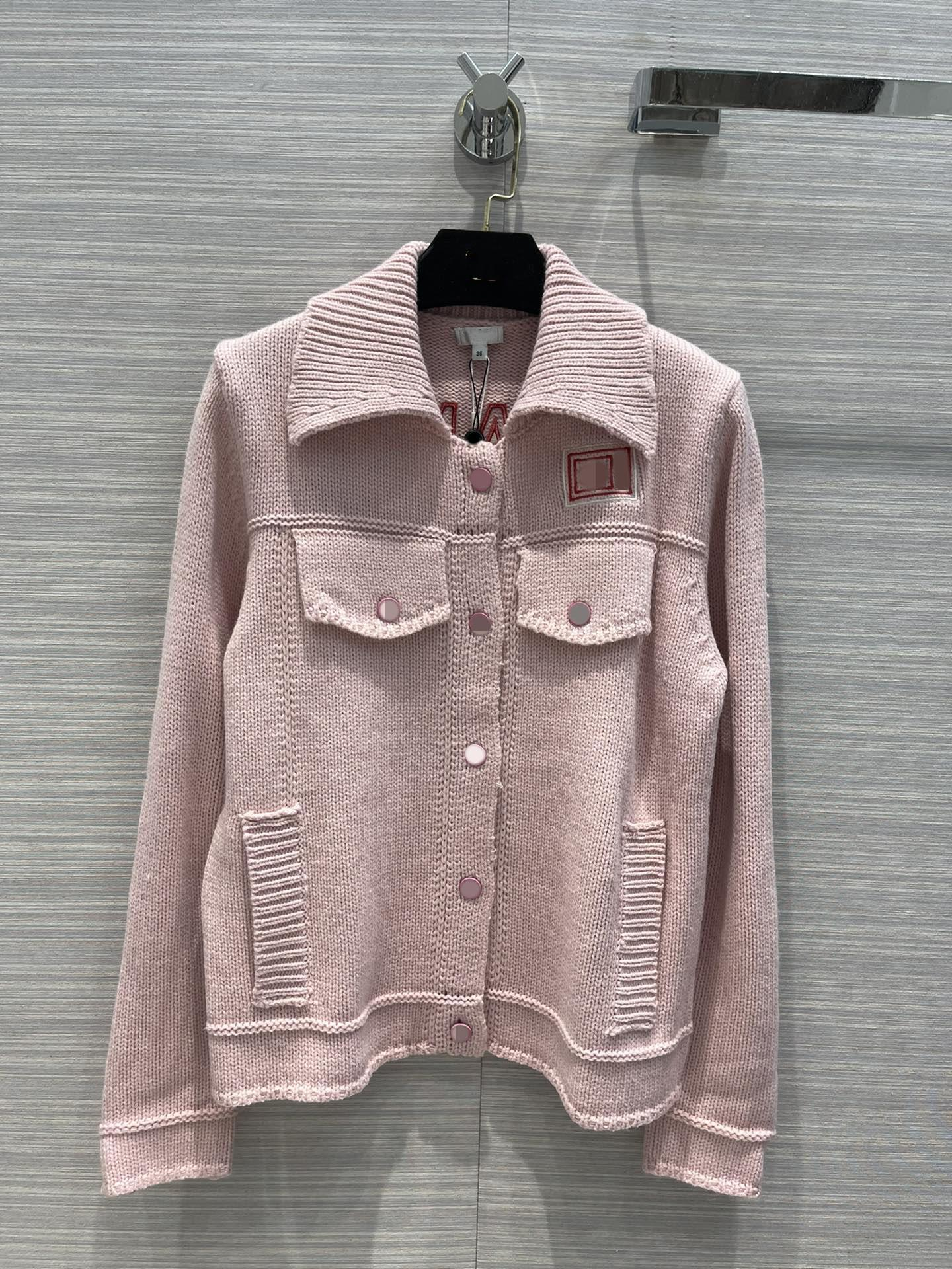 Milan Pist Ceketler 2021 Sonbahar Kış Yaka Boyun Uzun Kollu Nakış kadın Tasarımcı Mont Marka Aynı Stil Giyim 0918-2