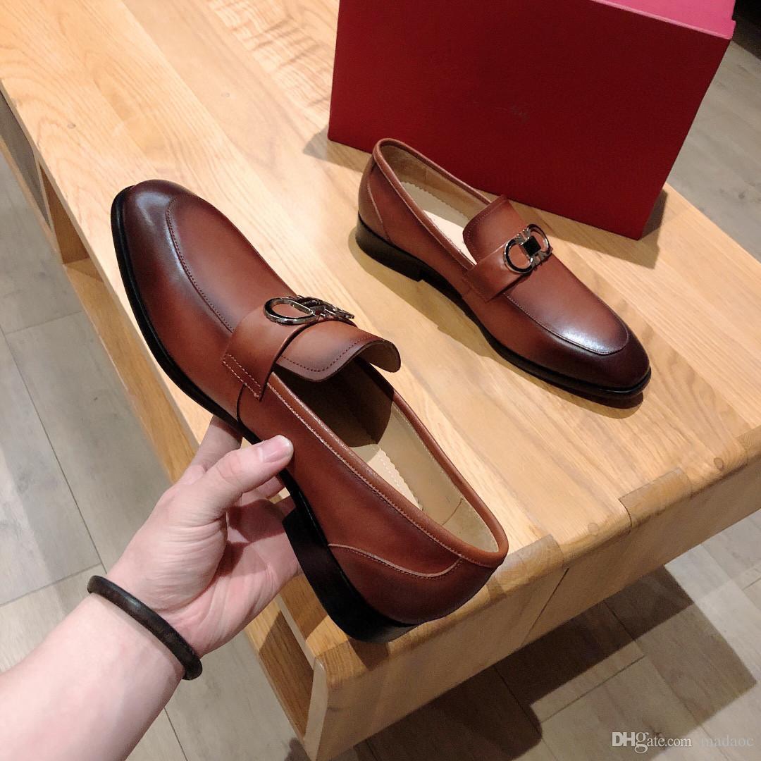 Мужская кожаная обувь бренд роскошный брог обувь мужчины бизнес на шнуровке формальный оксфорд мода напечатанные свадебные дизайнеры платья платформа обувь