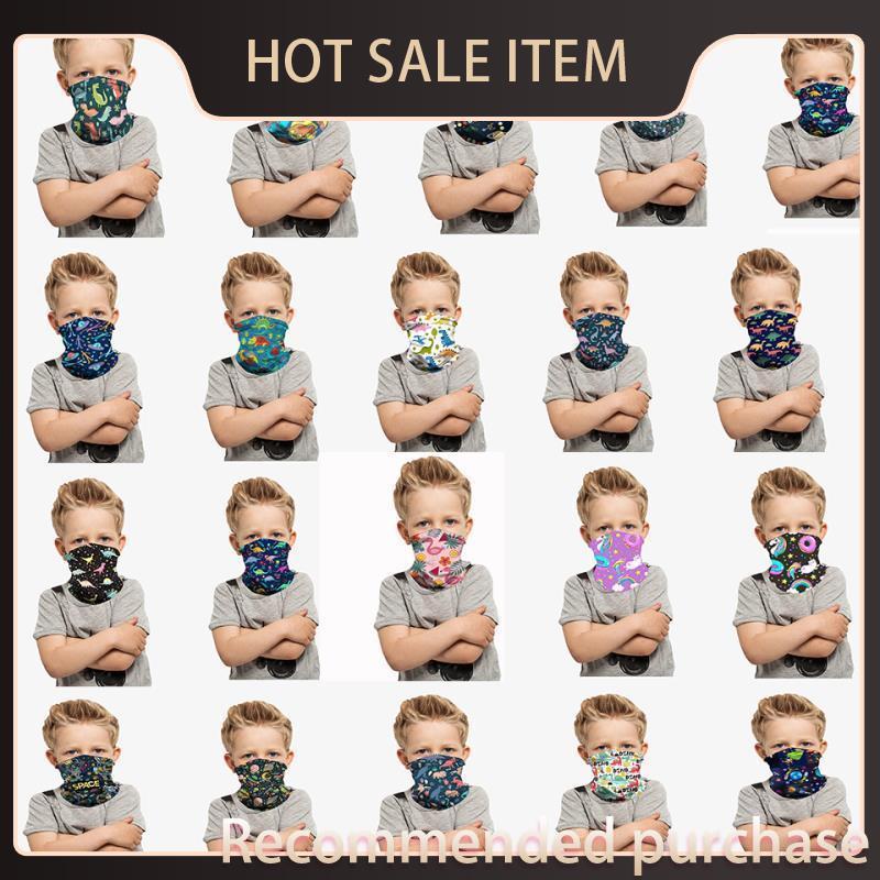 Gesicht Neue Fast 2020 Radfahren Turban Schiffsmaske Party Maske Kinder Outdoor Halloween Neckcarf Stirnband Schutzmasken Bandanas Kinder FY7 DQCG