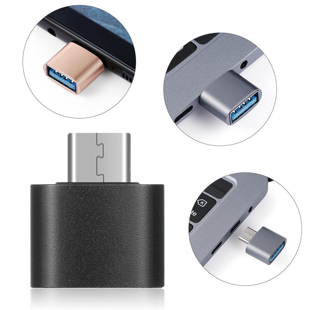 USB C to USB3.0 어댑터 A MACBOBBOOK SAMSUNG GALAXY와 호환되는 남성 T 여성 어댑터
