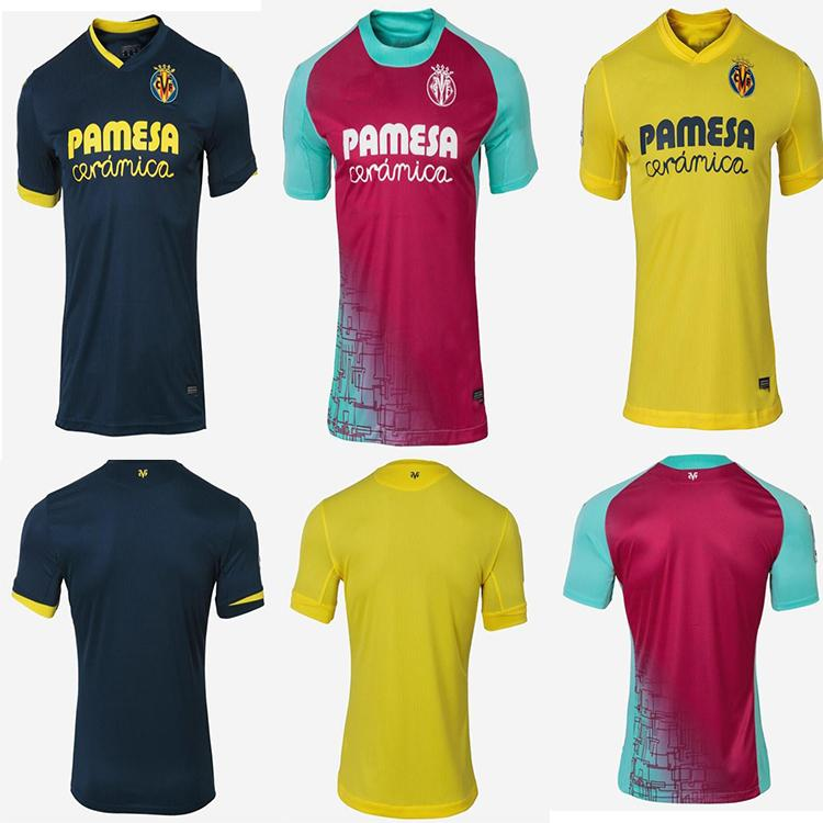 Padrão 2021Villarreal cf S.Cazorla Futebol Jerseys 20 21 Casa Chukwuee Fornals Adult Shell Pedraza Moreno Ekambi Football