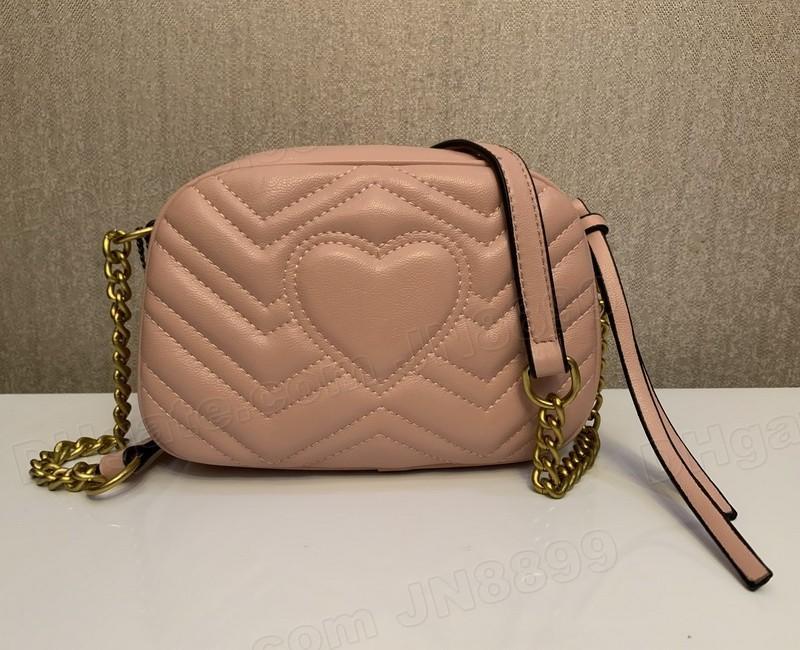 뜨거운 판매 최고 품질의 새로운 여성 핸드백 골드 체인 어깨 가방 크로스 바디 Soho Bag 디스코 메신저 가방 지갑 5 색