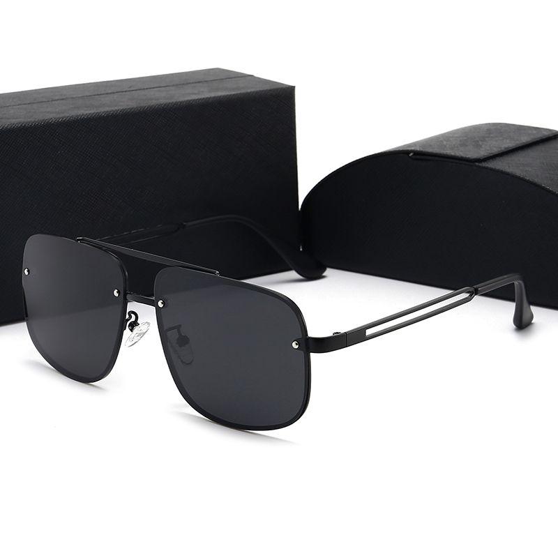 Caliente nueva moda vintage conducir gafas de sol hombres al aire libre diseñador de deportes para hombre gafas de sol mejores gafas vendidas gafas 20 colores con caja