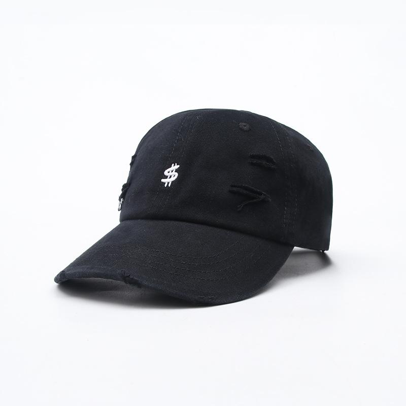 2021 Spring Summer new style geometric embroidery cotton Casquette Baseball Cap Adjustable Snapback Hats for men and women 05