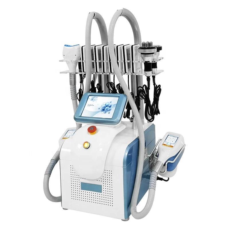 Çok İşlevli Vücut Heykel Yağ Donma Makinesi Kore Kriyoterapi Cooltech Lipo Cyro Cryolipolysis Ekipmanları Vücut Zayıflama Makinesi