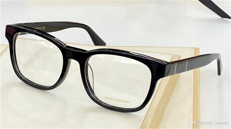 Vendendo Design de Moda Óculos ópticos 0764 Quadrado Quadro Clássico Estilo Simples Transparente Decorativo Óculos Top Qualidade com Glassescase