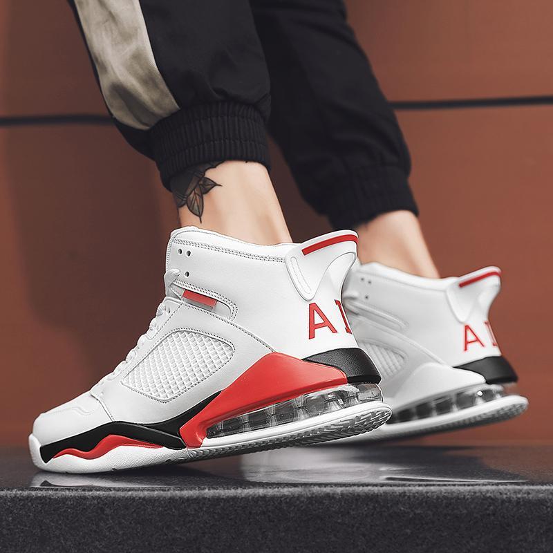 Новые кроссовки для мужчин для мужчин Trend Street Air Shushion кроссовки дышащих спортивных запатиллов легкая пробежка обувь