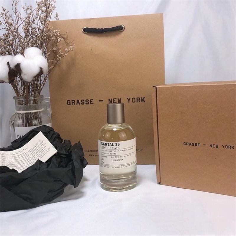 Air Freshener Perfume Santal 33 Noir 29 Rose 31 Eau de Parfum مع حقيبة هدية عيد الميلاد 100ml / 3.4oz