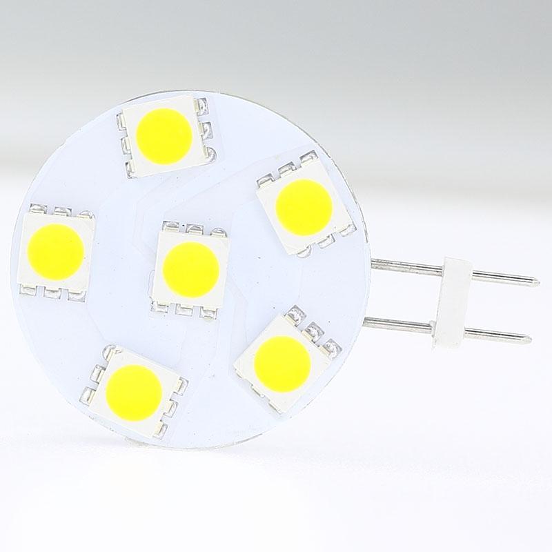 LED Ampul Lamba Süper Parlak Sıcak Beyaz Serin Beyaz Kırmızı RV Camper Dolap Kubbe Işık AC / DC12V-24V