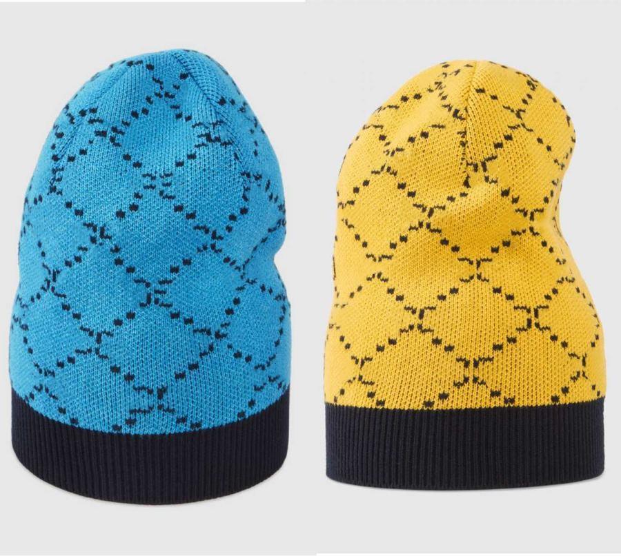 여성을위한 디자이너 비니 남자 Beanies Cap G 브랜드 가을 겨울 모자 스포츠 니트 모자 따뜻한 캐주얼 야외 모자 6 색