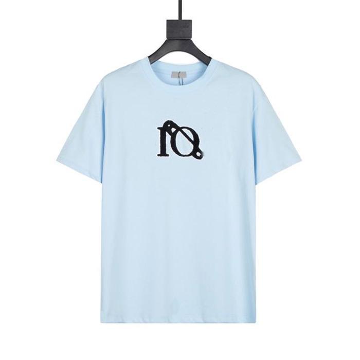 2021 Top Qaulity 100% cotom estate mens stilista T-shirt moda casual maniche corte tee comodo girocollo uomo uomo da uomo T-shirt