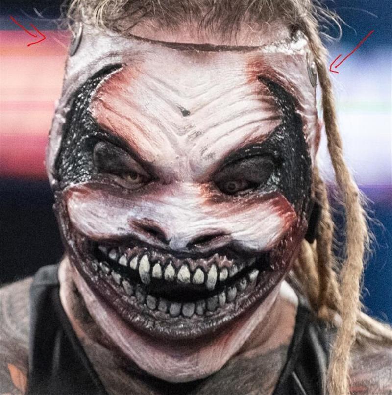 Altri eventi Forniture per feste Maschera demoni Halloween Carnevale Cosplay Scary Demon Costume Latex Puntelli regolabili Elastico