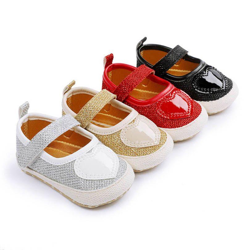 0-1 طن طفلة الأحذية الحب طفل أحذية الوليد الأحذية الأميرة الأخفاف لينة أول المشي الأحذية الرضع الأحذية B4085