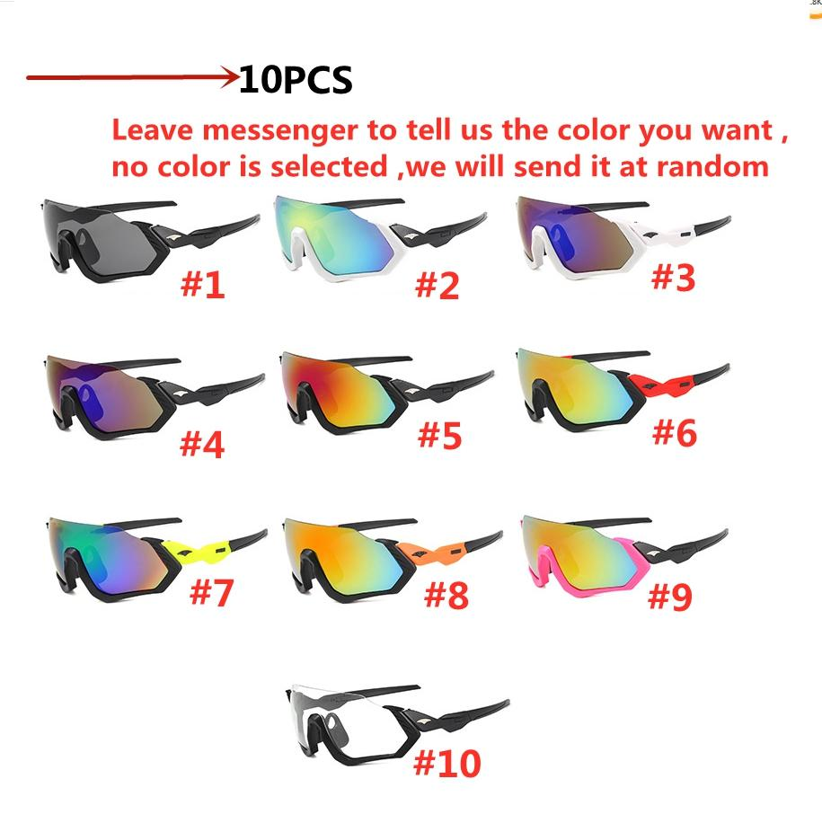 Occhiali da ciclismo MTB Road Bike Bike Occhiali da sole UV400 Protezione Ultra-Light Unisex Bicylecy Eyewear Attrezzature sportive