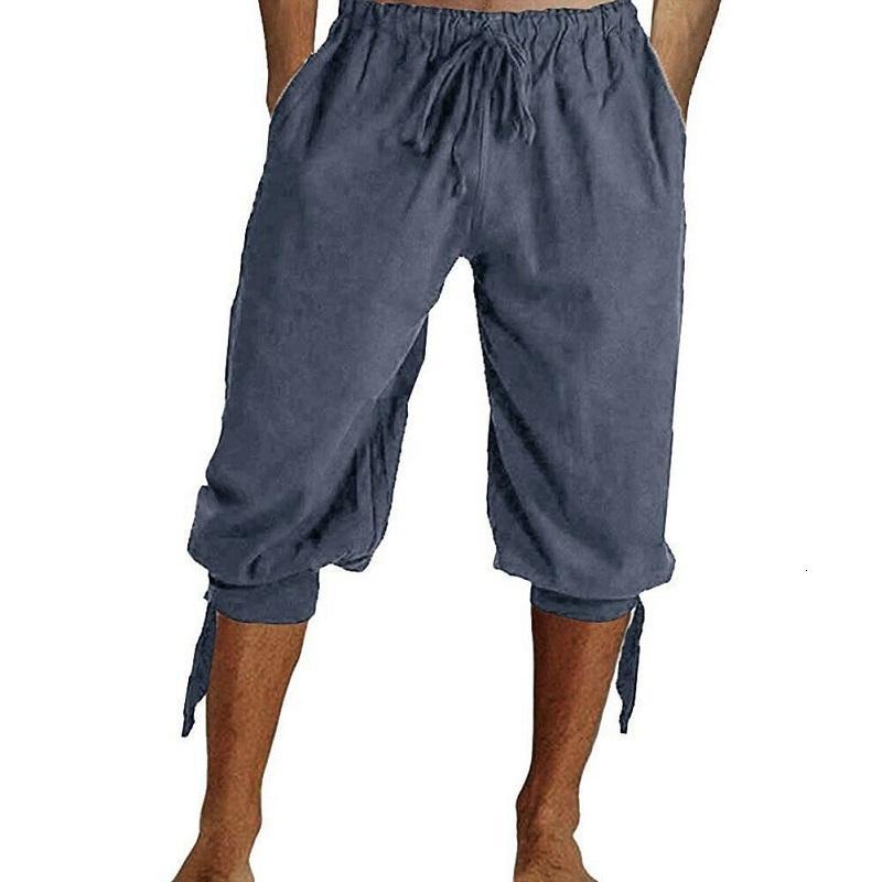 saleNew Men On Casual Harem Book Linens Loose Cropped Shorts Capri Oversize Broek Sport Cargo General Streetwear Short Jogging Trousers