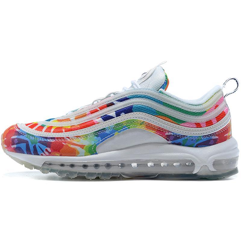 2021 Şerit Mermi Golf Kravat Boya Aşk Run Sneaker Koşu Ayakkabıları Spor Erkekler Için Euro Boyutu 40-46