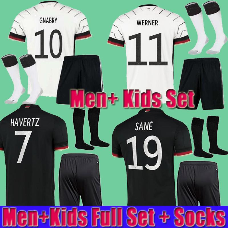 Men kids kit 2021 Germany soccer jersey Home HUMMELS KROOS DRAXLER REUS MULLER GOTZE football shirts uniforms