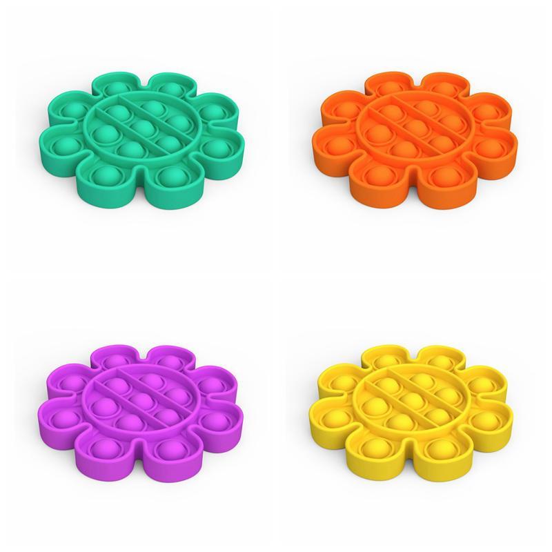 Пузырь Сенсорные FIDGET Игрушечный аутизм Особые нуждается в стресс Обращение Игрушка Силиконовые Сжатие Игрушки Анти тревога Инструменты для детей и взрослых