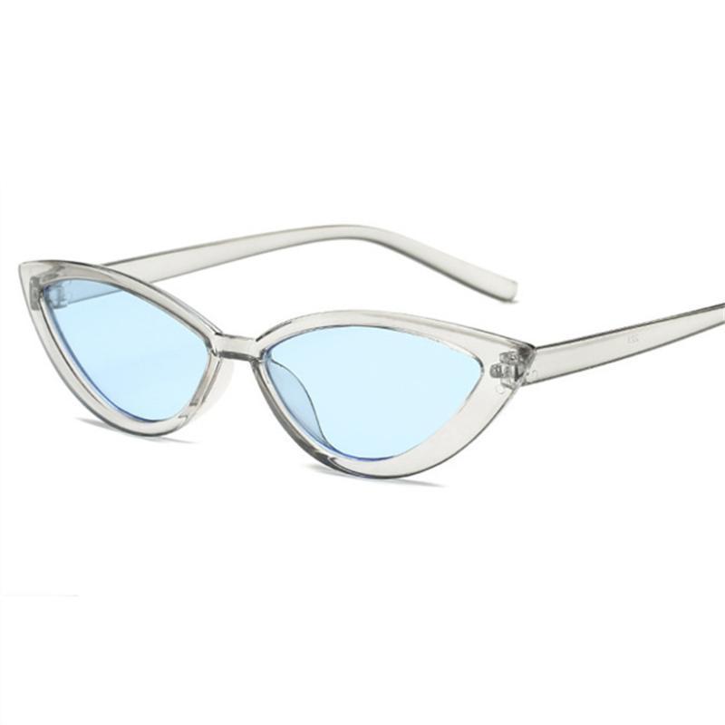 Xojox femmes mode chat lunettes de soleil lunettes de soleil marque vintage petite lunettes de soleil lunettes jaune lunettes miroir miroir lunettes UV400