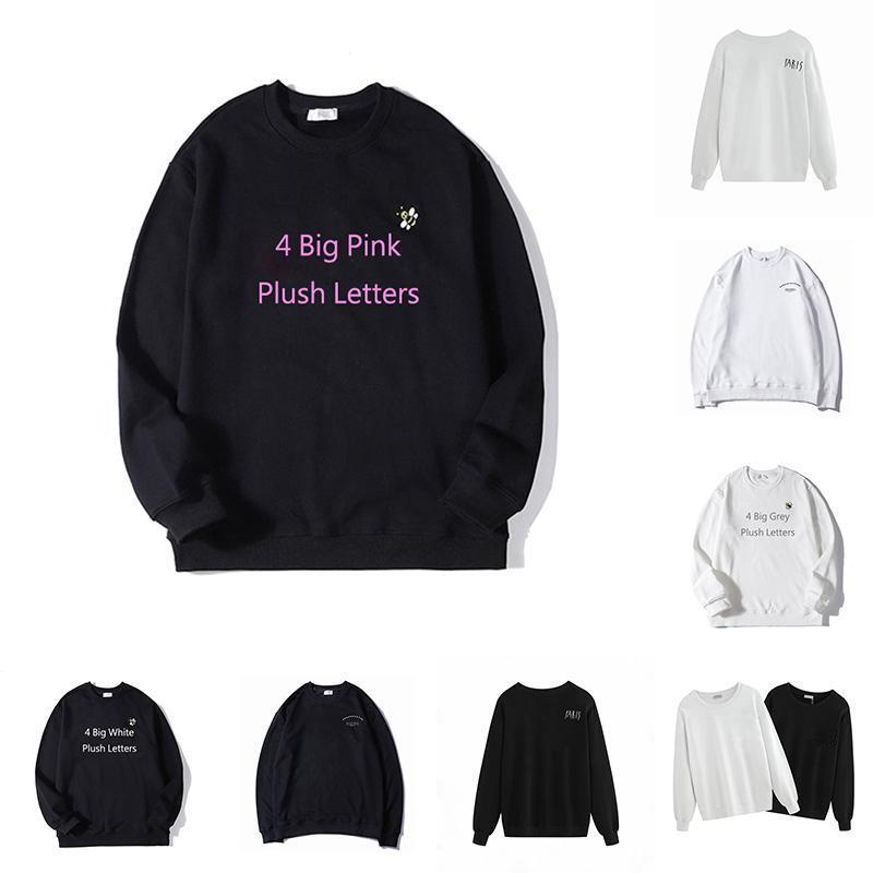 21SS MENS WOMENS Designer Hoodies Frauen Mode Männer S Kleidung Casual Herbst Winter Langarmbuchstaben Drucken Gestickte Sweatshirts Jumper