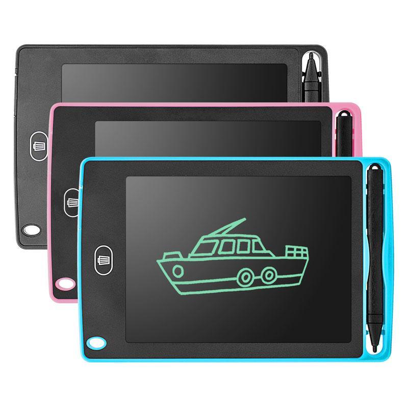 8.5 인치 전자 드로잉 보드 LCD 작성 태블릿 디지털 그래픽 정제 전자 필기 패드 펜