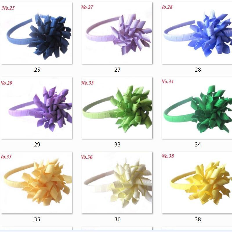 200 stks Haarstokken Korker Haarband Bogen Clip Corker Accessoire Krullend Ribbon Haarclip Accessoire Hard Plastic Hoofdband PD009