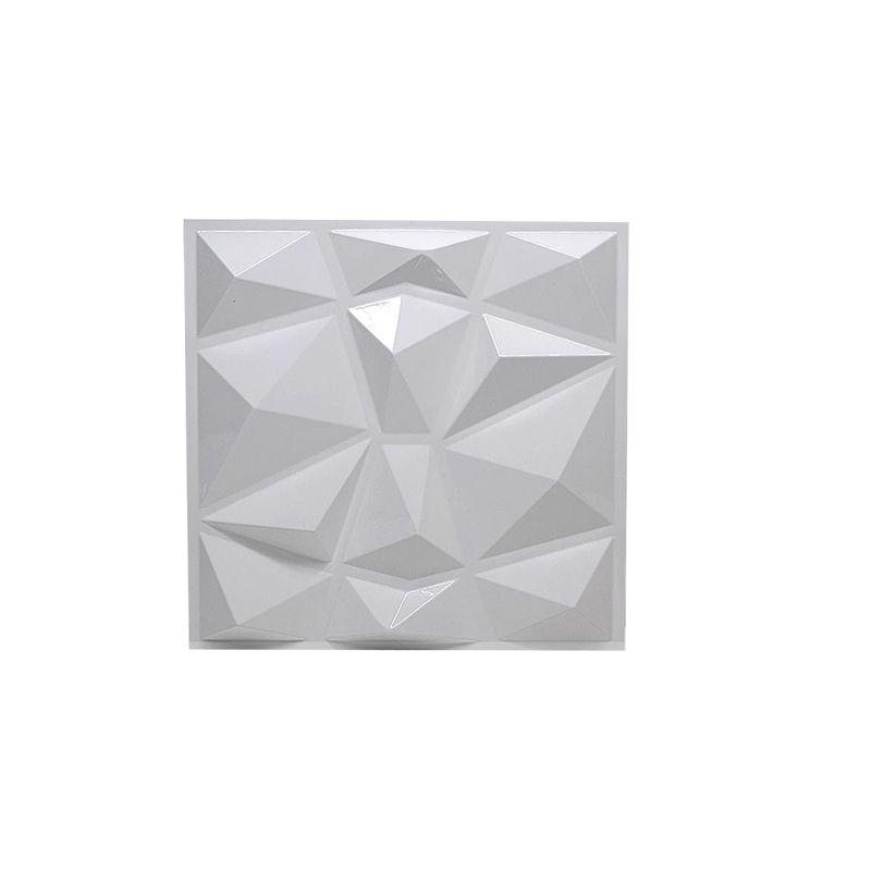 3D 타일 패널 금형 석고 벽 스티커 거실 벽지 벽지 벽화 방수 화이트 블랙 스티커 욕실 부엌