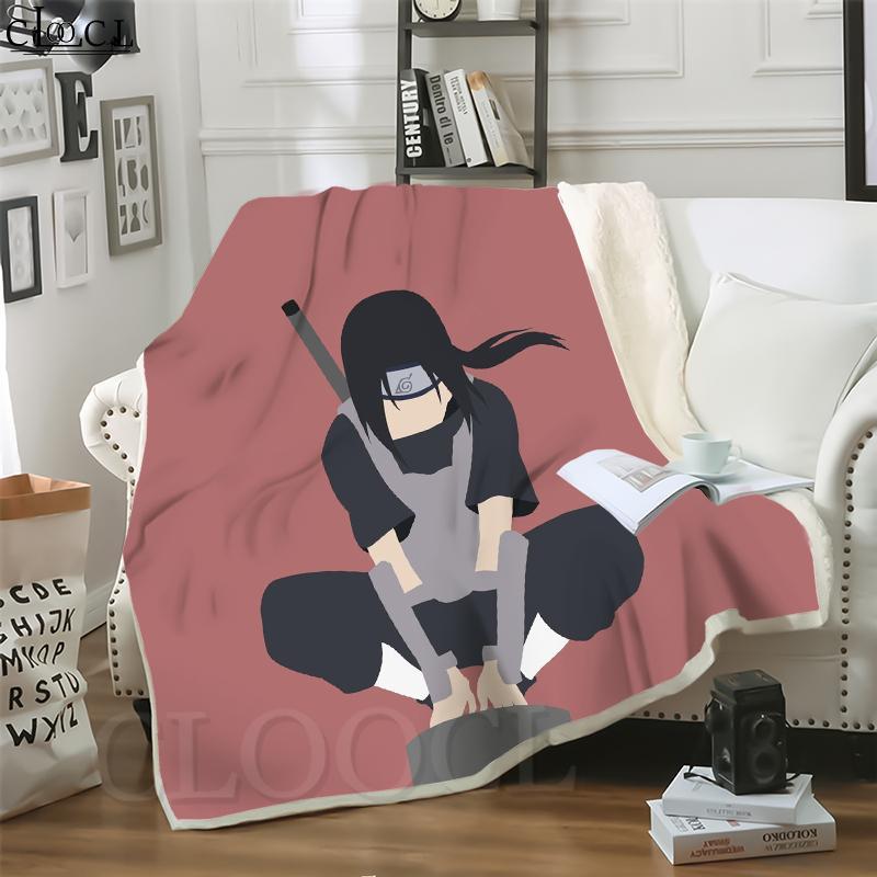 CLOOCL Одеяла аниме Naruto Uchiha Itachi 3D Печать Хип-Хоп Стиль Диван Путешествие бросить одеяло Подростки Плюшевые одеяло