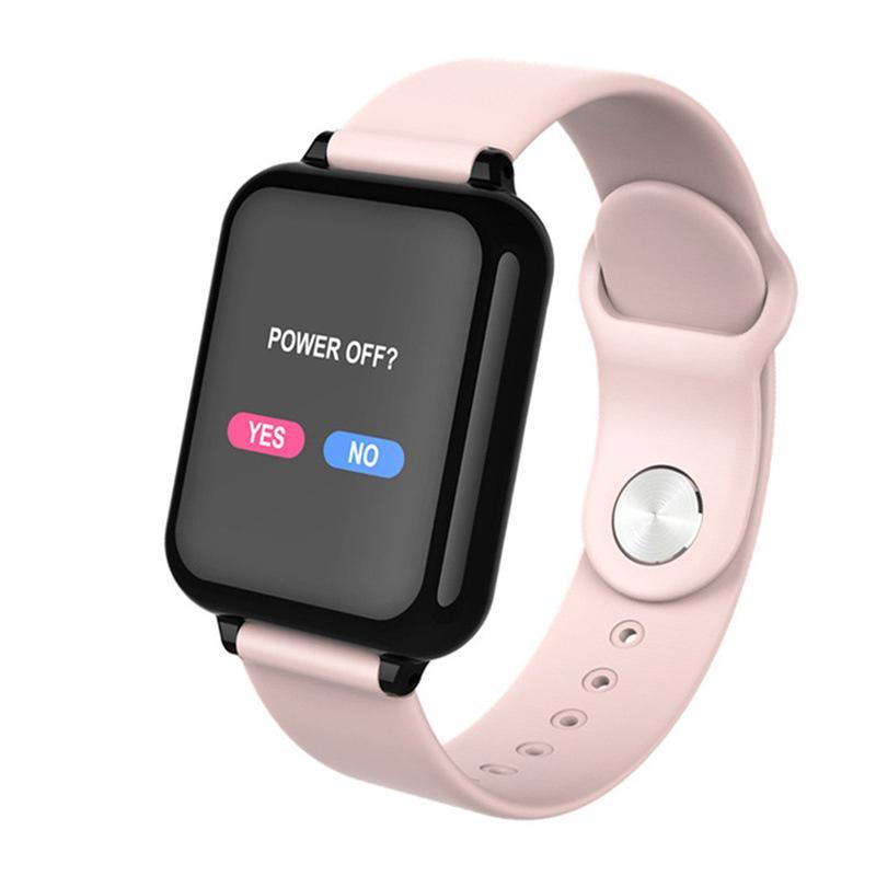 B57 Smart Watch Wristbands Impermeabile Fitness Tracker Sport per iOS Android Telefono SmartWatch Cardiache Morsore Monitor Funzioni di misurazione della pressione sanguigna DHL
