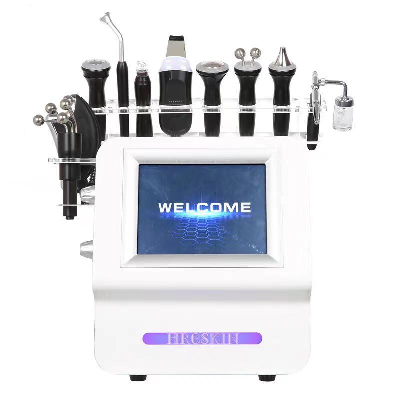12 in 1 multifunction facial care machine deep cleaning moisturize skin firming anti-aging wrinkle remove reduce puffiness beauty equipment