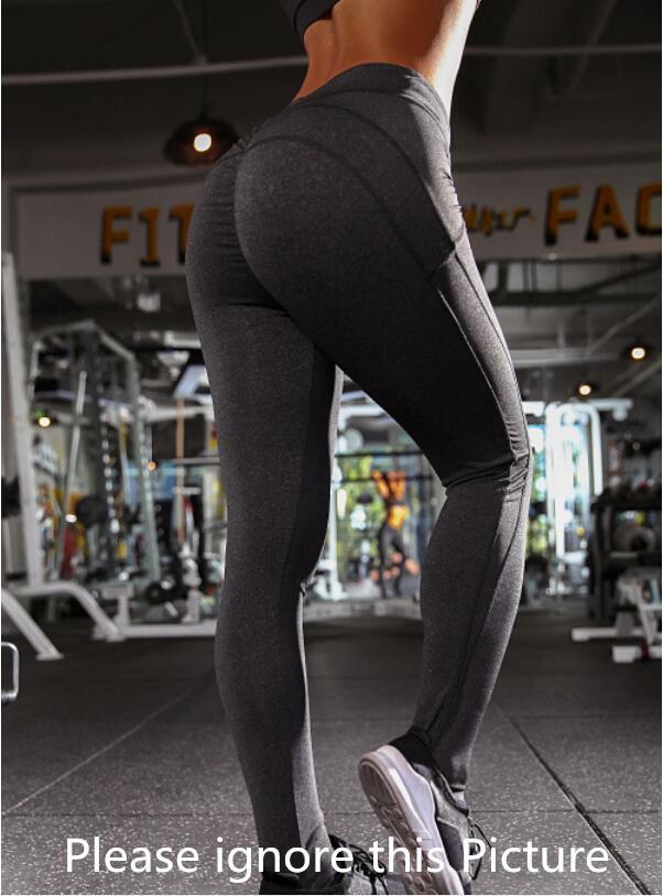 Бесплатные повязки Женские леггинсы Женские брюки спортивный тренажерный зал носить леггинсы упругие фитнес леди общие полные колготки тренировки йога брюки размер XS-XL