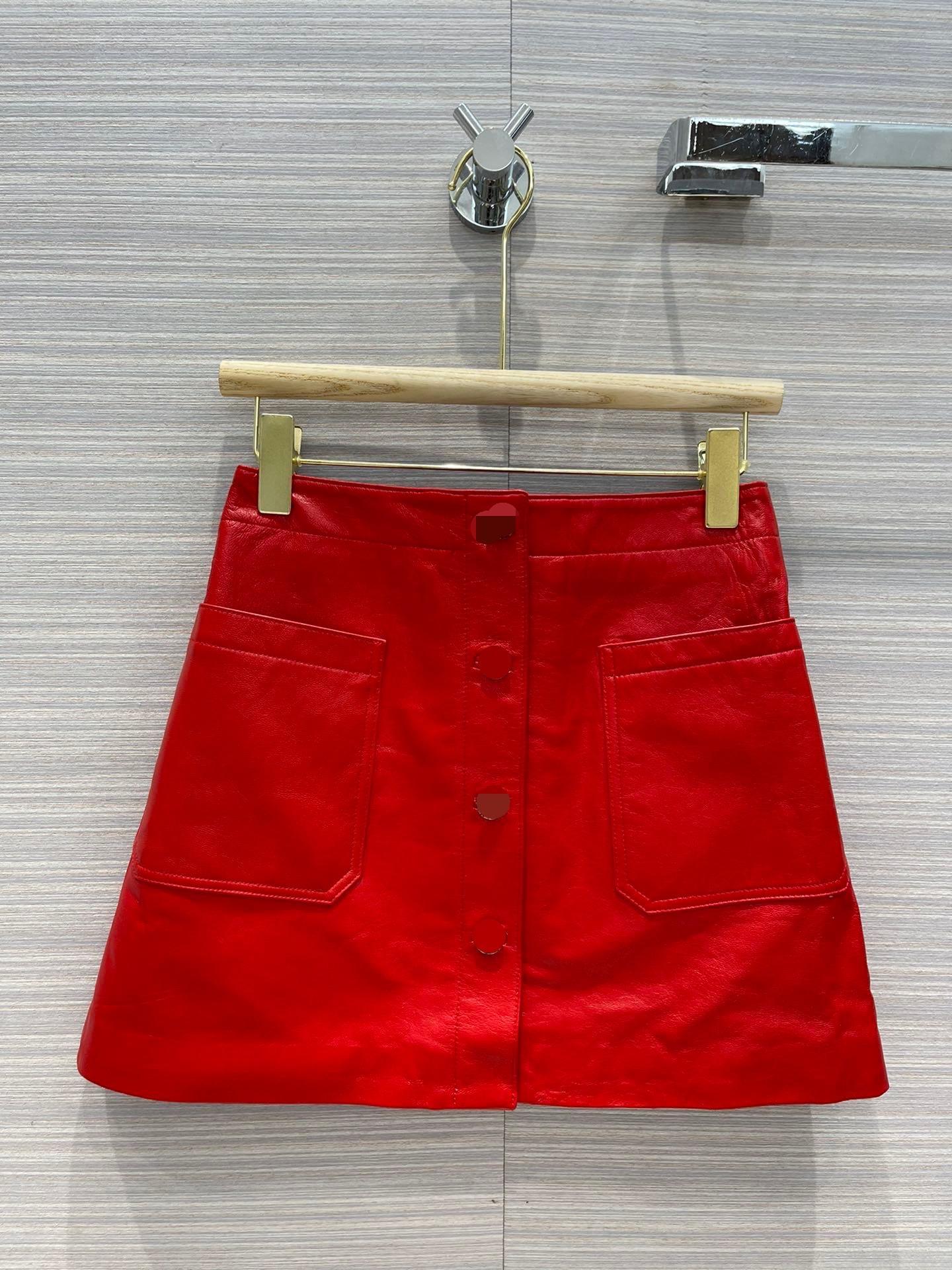 2021 İlkbahar Sonbahar Kış Milan Tasarımcı Etekler Muhteşem Bir Etek Kadınlar Marka Aynı Stil Etekler 0607-1