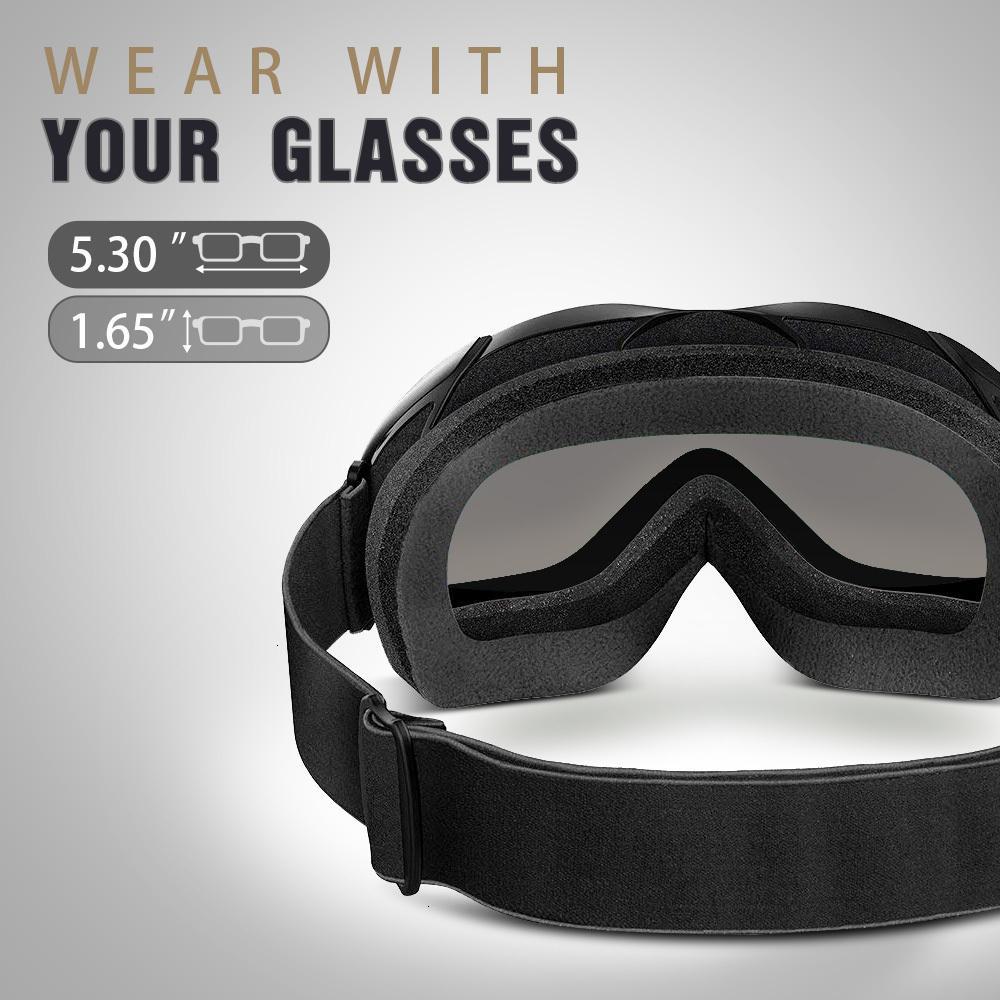 Outlet de fábrica 70% de descuento en High Calidad Al aire libre Maestro Bundel-OTG Glasses con Kelvin Ski Snowboard Helm A1