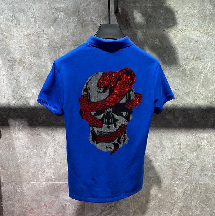 2021 Новое лето 3 цвета мода мужской комфорт с короткими рукавами хлопковые рубашки высокого качества Брока де дизайн горячий Q9D1