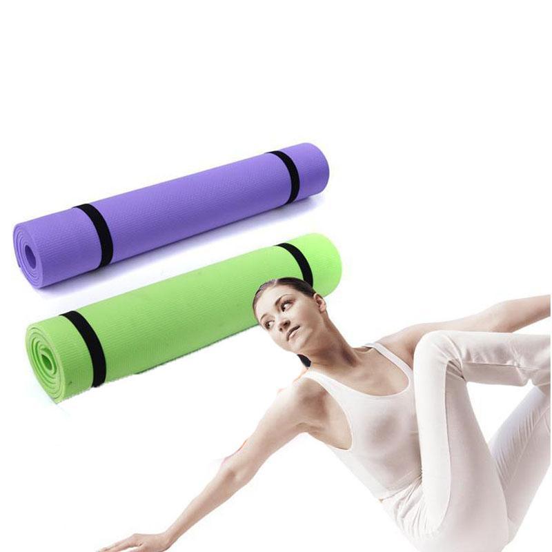 Barato Equipamento de ginástica 6mm grosso EVA Conforto España Esteira de ioga para exercício, yoga e pilates melhor em casa Equipamento de treino