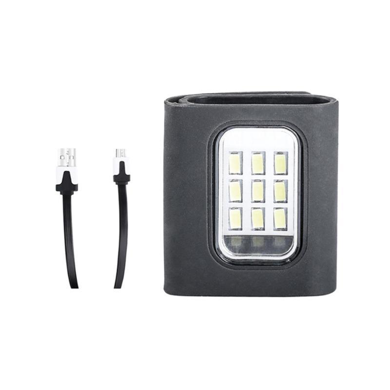 Велосипедные огни светодиодные ночные бегущие велосипедные легкие магнитные клипные лампы водонепроницаемый USB платная безопасность для езды Jo