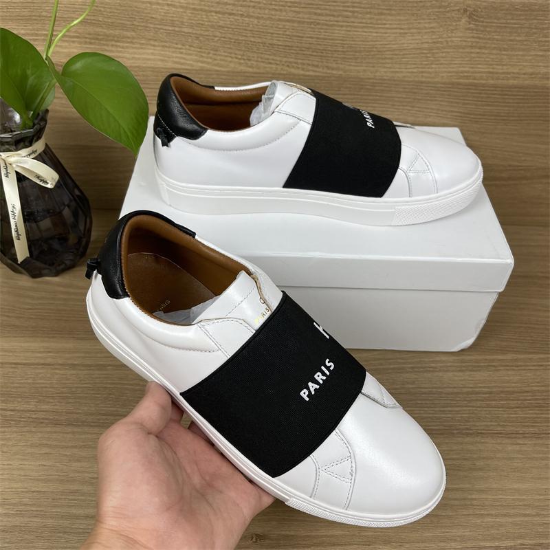 Sneakers de designer Hommes Femmes Casual Chaussures Fashion Blanc Véritable En Cuir Véritable Fleur de Prestige Sports plats brodés avec boîte