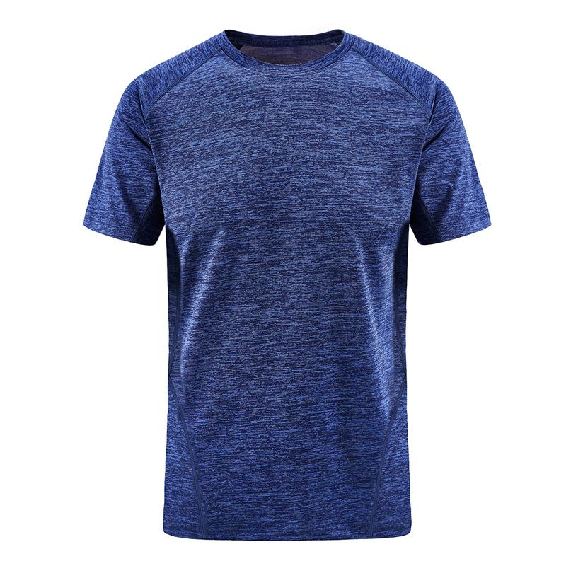 Plus Taille 7XL 8XL T-shirt décontracté Couleur massif de couleur Séchage rapide Séchage rapide Homme Fitness Hommes Sleever Haute Qualité Haut de haute qualité