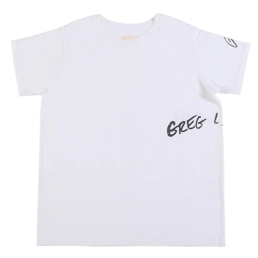 2020 Verano Hot Selling Mens Designer Carta Impresión T SHIRTS ~ Tamaño de los EE. UU. Tshirts de gran tamaño ~ Tops Mens Nuevo diseñador de manga corta camisetas
