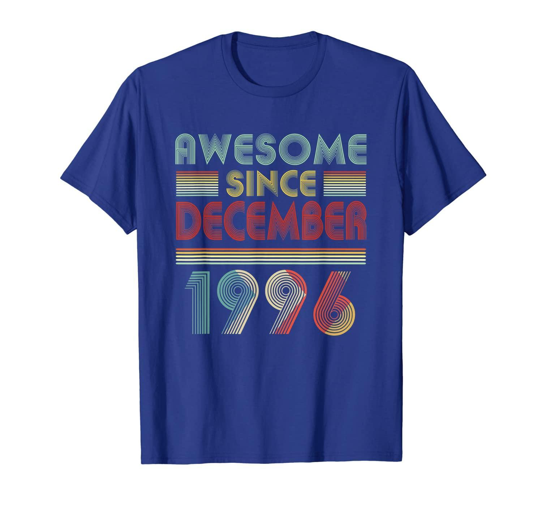 Décembre 1996 T-shirt 23 ans décoration d'anniversaire 23 ans