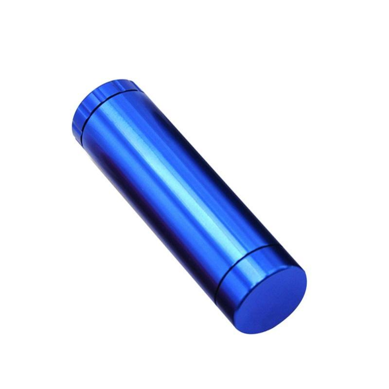 Boîtes de piqûres céramiques Cigarette Ceramic Tuyau Bat Briquet Briquet de rangement Tabac Grinder Herbal Therbal Therbal Therbal Tout en un 102 * 32 mm Étui de fumée 237 S2
