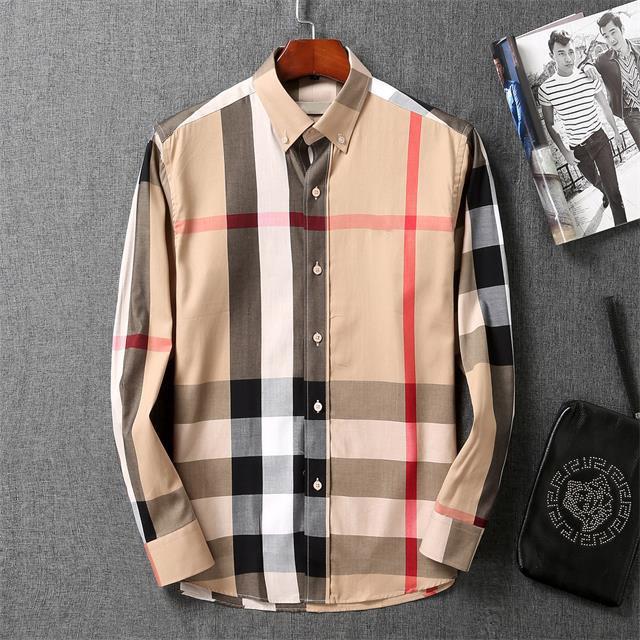 Роскошные дизайнеры платья рубашка мужская одежда мода общество черные мужчины рубашка сплошной цвет бизнес случайные рубашки мужские с длинным рукавом рубашка M-3XL # 05