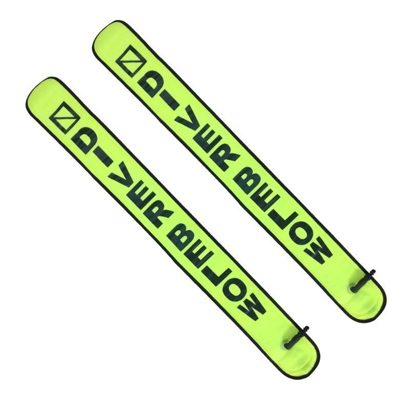 Poolzubehör Tauchen SMB 1,5 mt 1,8 mt boje bunte Sichtbarkeit Sicherheit aufblasbare SCUBA-Oberflächensignal-Marker-Zubehör