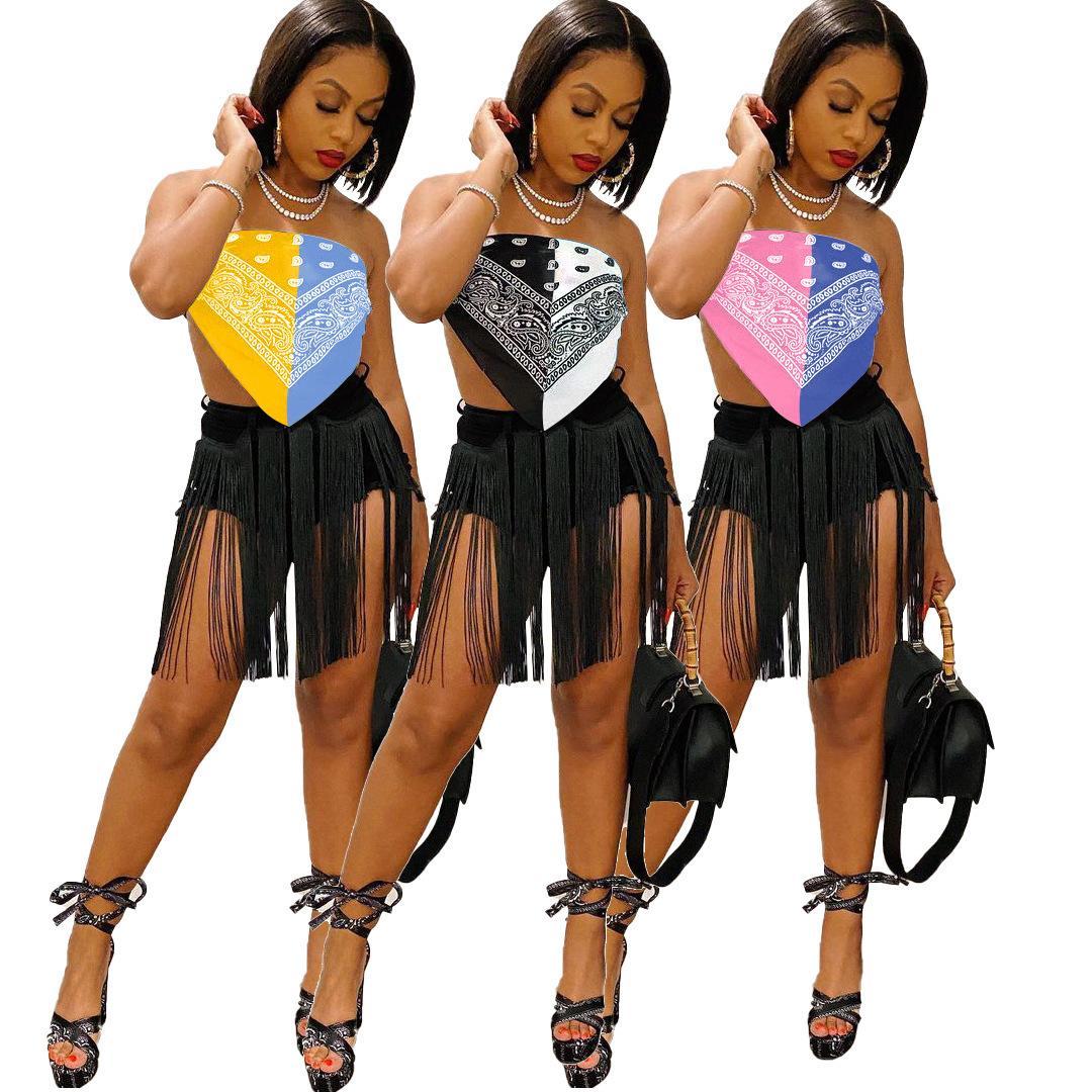 Сексуальные женские напечатанные лучшие бюстгальтер контрастный цвет ночной клуб бюстгальтер клуб женская одежда