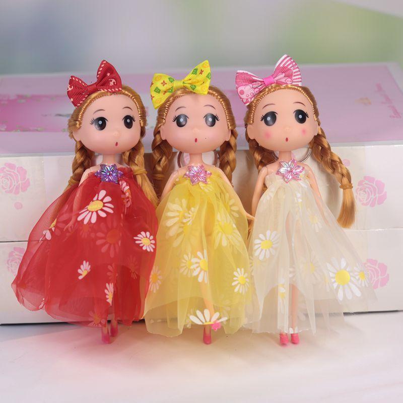 18 см смущенные Уанжао Барби принцесса девушка игрушка сумка подвесной аксессуары кукла живописное место