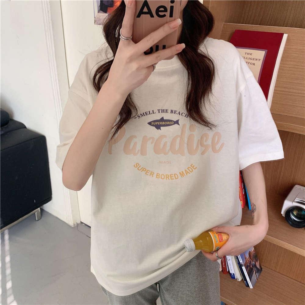 T-shirt a manica corta della nuovissima moda coreana per studenti