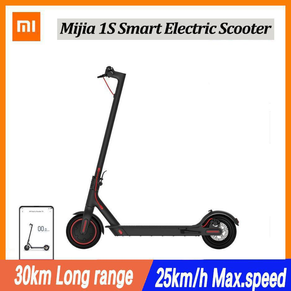 Xiaomi Mijia Electric Scooter 1S Mini Smart Foldable Longboard Adult 30km Battery 250W Motor