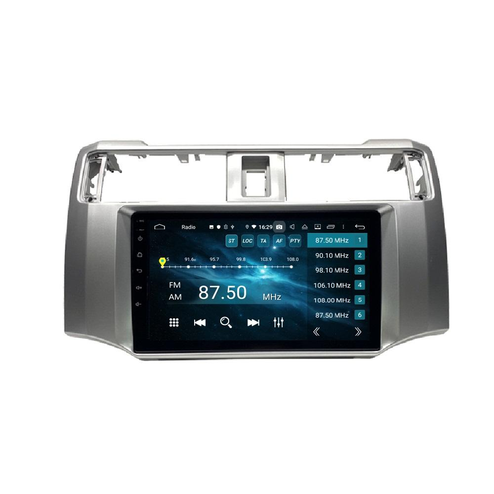 """Carplément Android Auto 1 DIN 9 """"PX6 Android 10 Voiture DVD Radio GPS Video Player Bluetooth 5.0 WiFi pour Toyota Runner 2009-2019"""